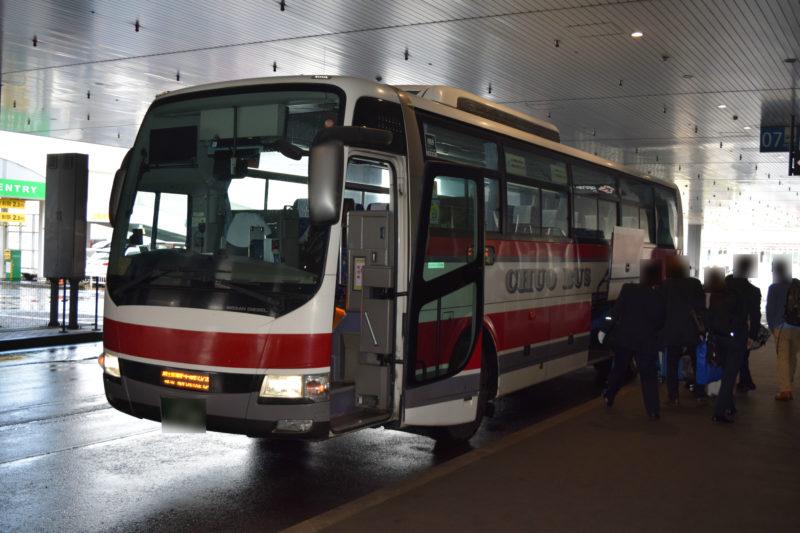 北海道中央バスの新千歳空港連絡バス