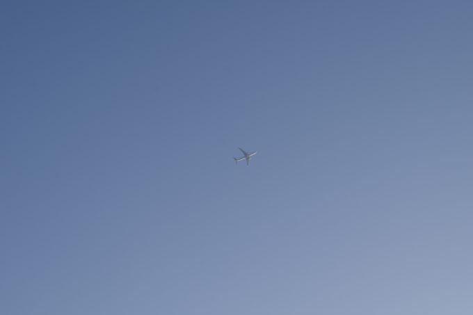 新千歳空港を行き来する飛行機