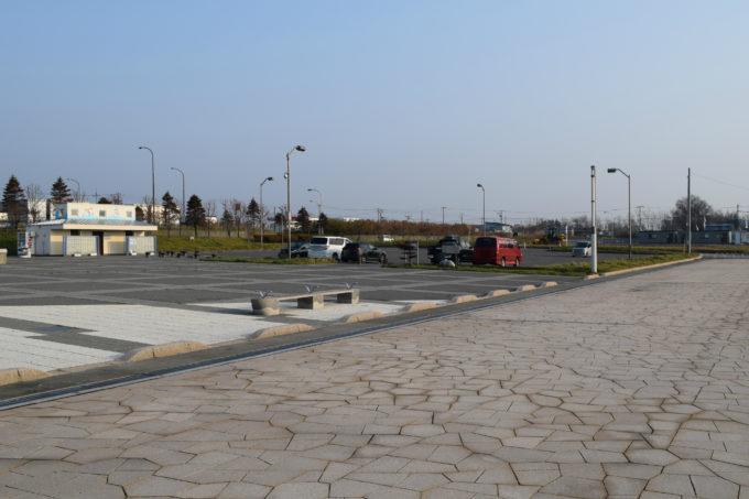 キラキラ公園東側の駐車場