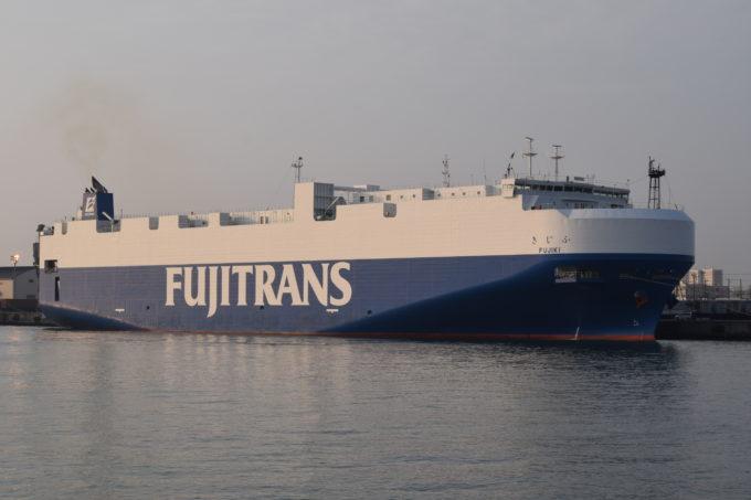 フジトランスコーポレーション船舶のふじき(FUJIKI)
