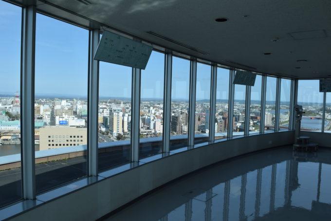 釧路市生涯学習センターまなぼっと幣舞展望室