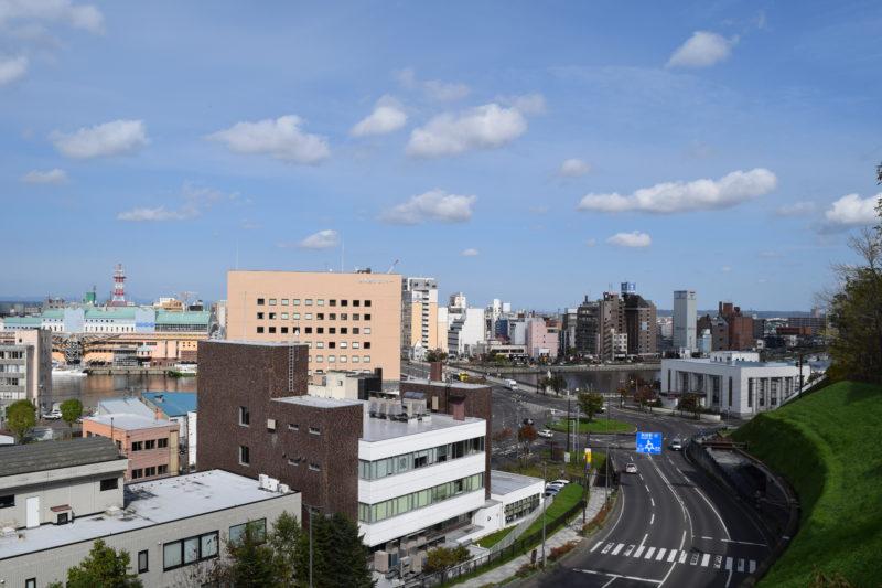 釧路市生涯学習センターまなぼっと幣舞屋外展望デッキ