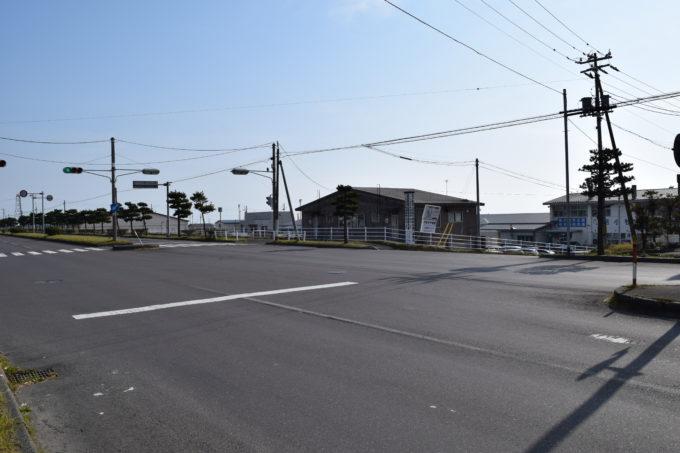 マルトマ食堂は汐見大通沿い