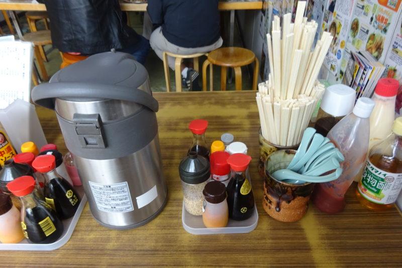 マルトマ食堂テーブル