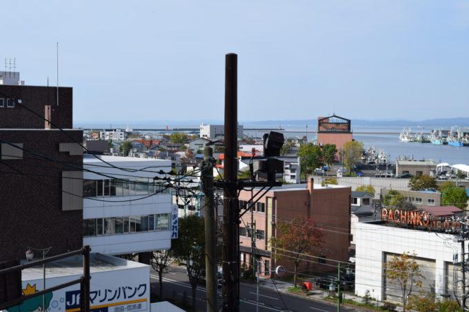 幣舞橋と釧路川を望むライブカメラ