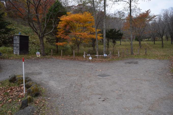 白老虎杖浜親水公園駐車場