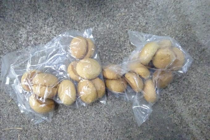 くまのエサ2個入りクッキー