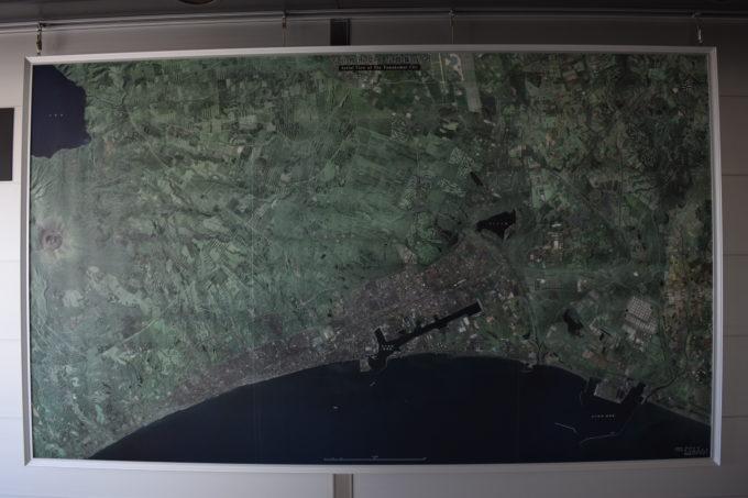 苫小牧市空中写真集成図