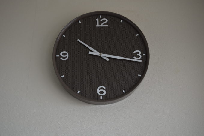 苫小牧市役所展望回廊時計