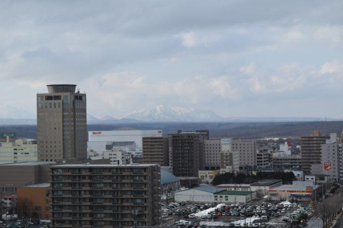 雪の紋別岳