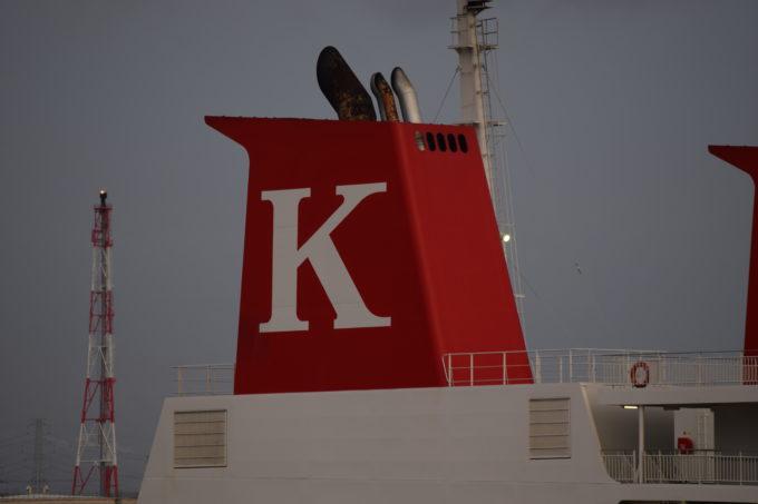 川崎近海汽船のロゴ