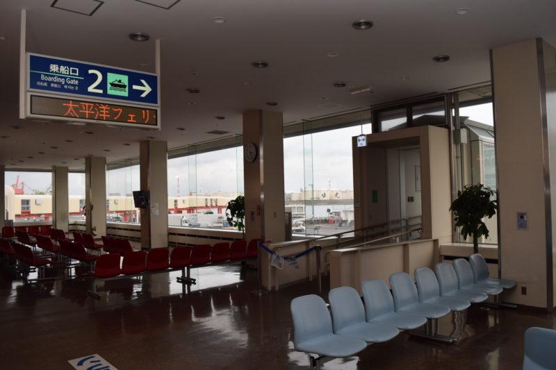 苫小牧西港フェリーターミナル第2乗船口