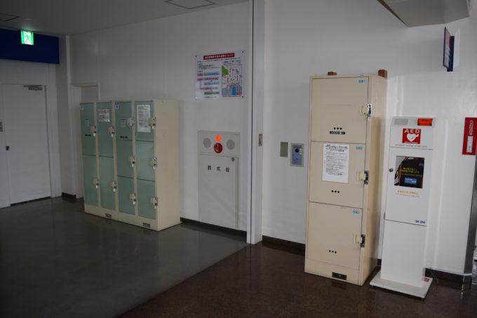 苫小牧西港フェリーターミナルコインロッカー