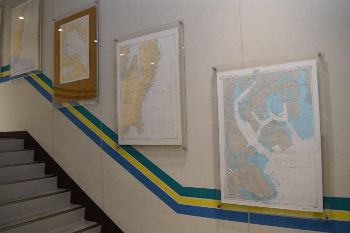苫小牧西港フェリーターミナルの海図