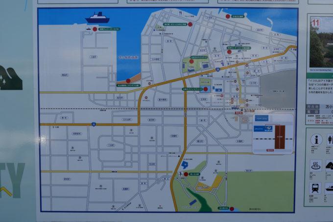 苫小牧市地図
