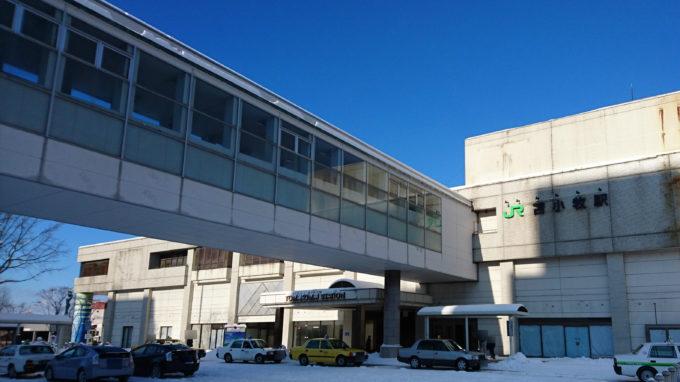 JR苫小牧駅の周辺地図・構内図
