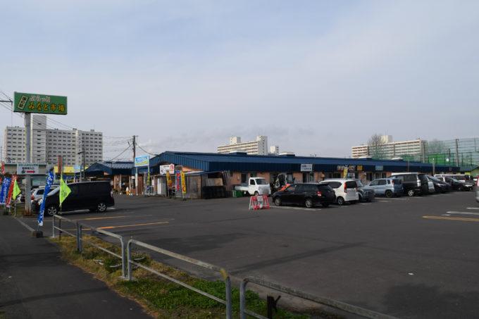 ぷらっとみなと市場の駐車場
