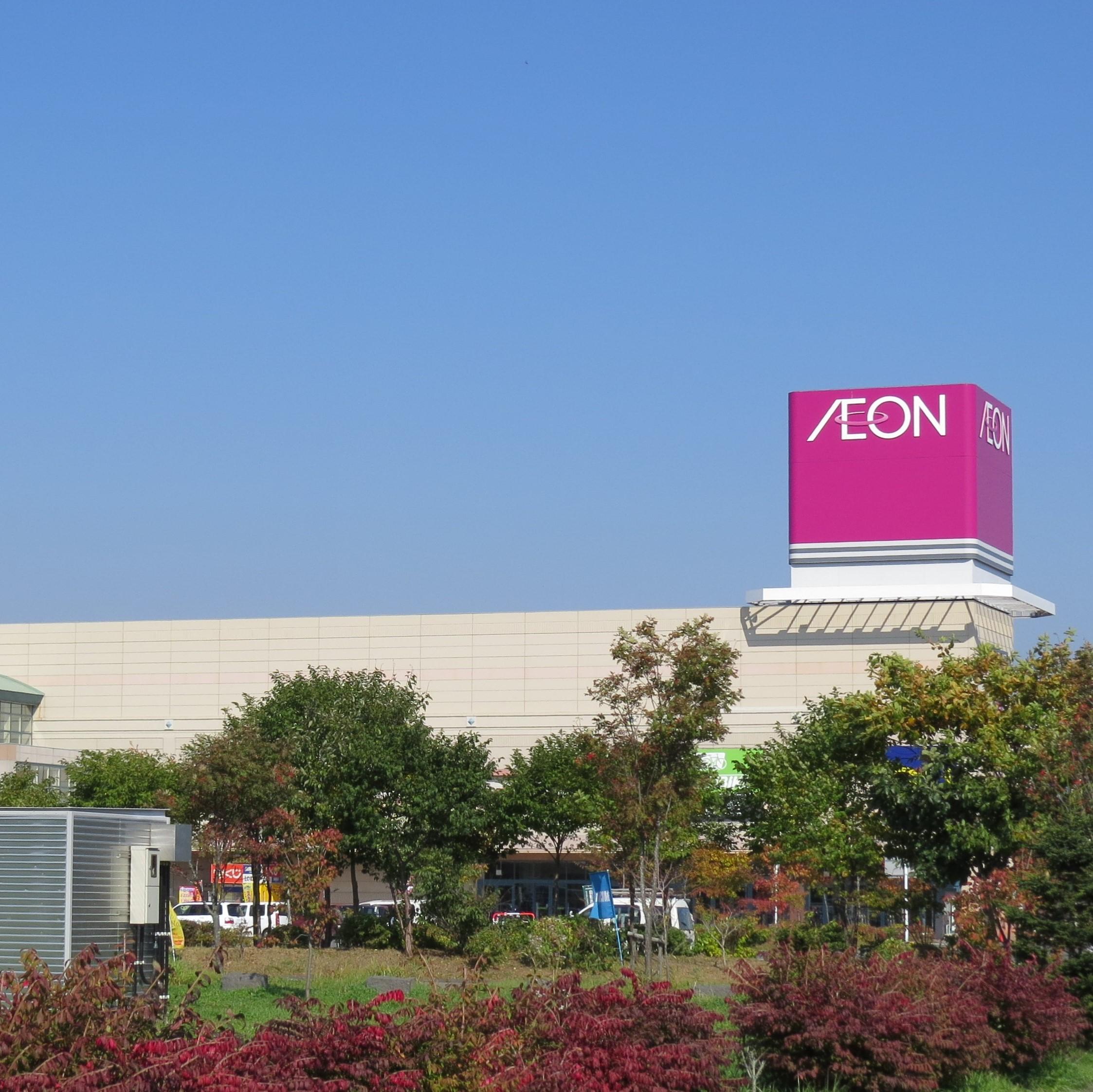 北海道のイオン店舗面積ランキング