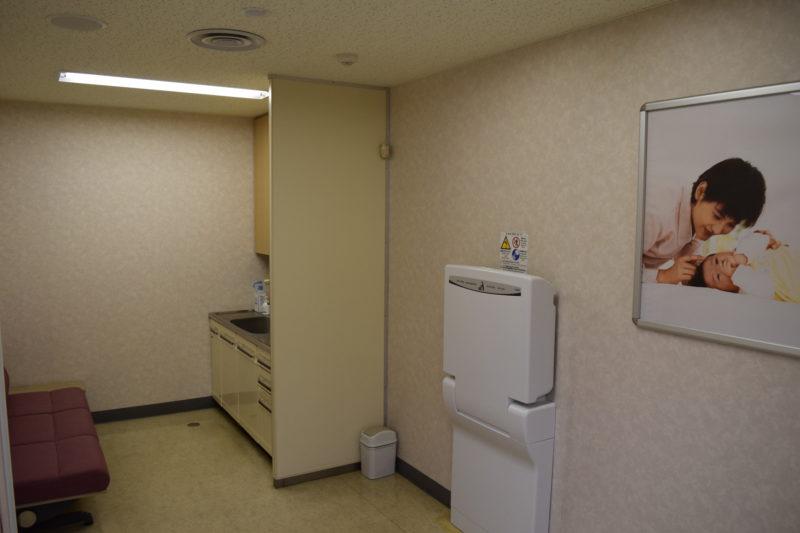 釧路空港ターミナルビル2Fにある授乳室
