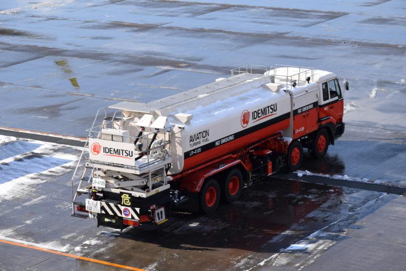 出光の燃料補給車「LR-4125」。