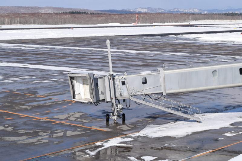 釧路空港ボーディングブリッジ