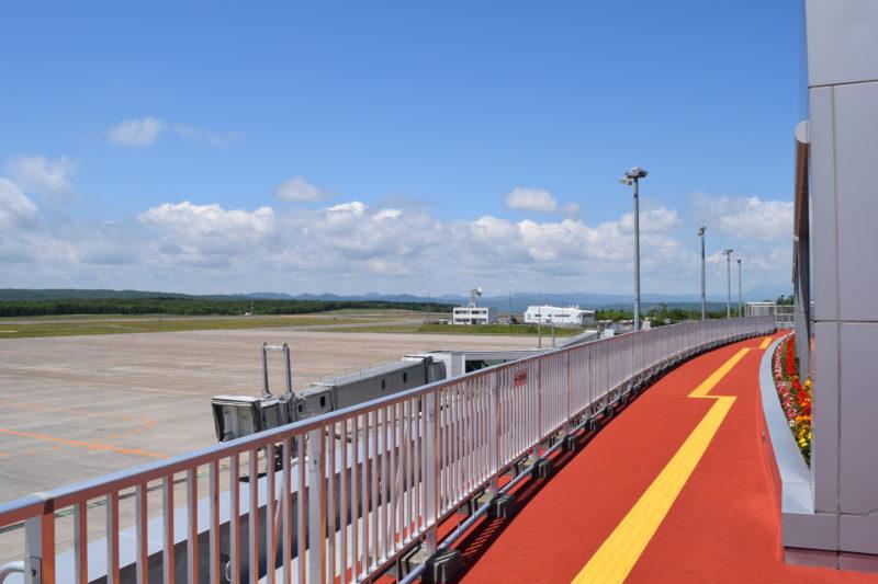 釧路空港送迎デッキ