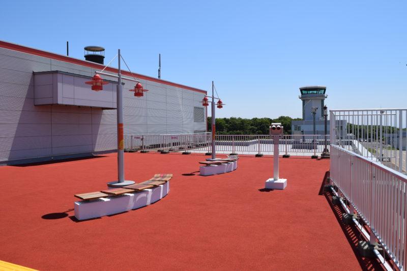 釧路空港送迎デッキ南側