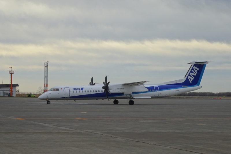 全日空(ANA)のプロペラ機「JA846A」