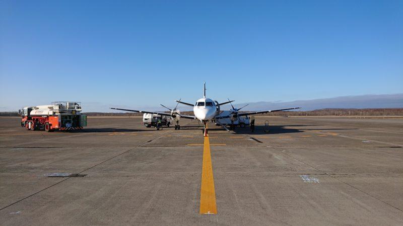 日本航空(JAL)プロペラ機