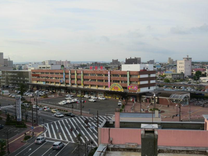 コンフォートホテル釧路からのJR釧路駅