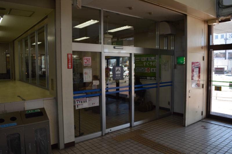 釧路駅待合室