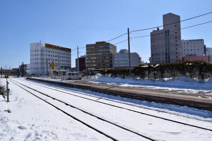 釧路駅2番線ホーム