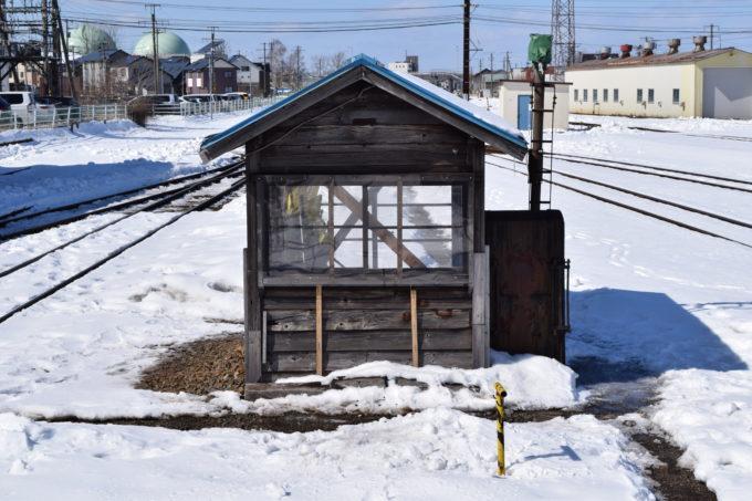 釧路駅小屋
