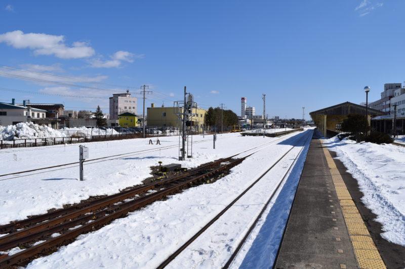 釧路駅3番線ホーム