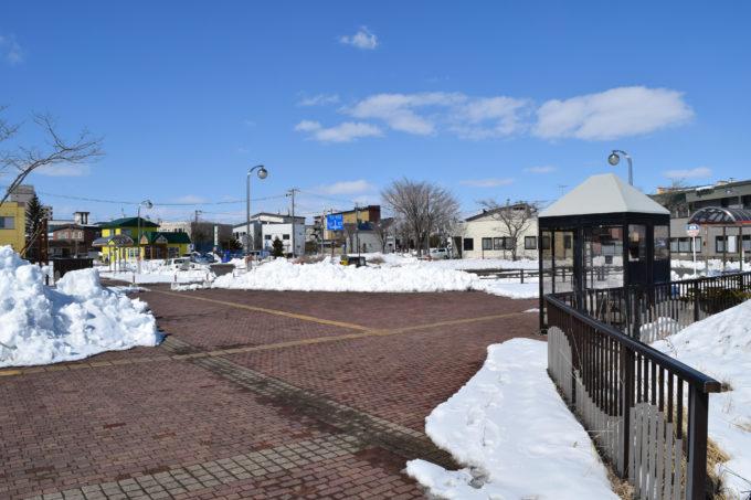 釧路駅北口広場タクシー乗り場