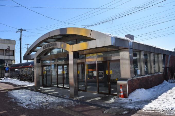 釧路駅南口(北大通方面)へと通じる釧路駅地下道