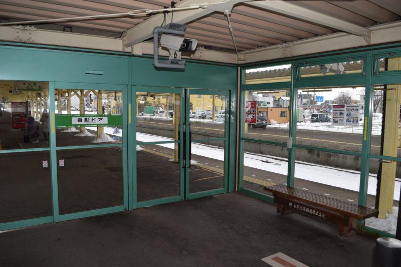 釧路駅2番ホーム・3番ホーム