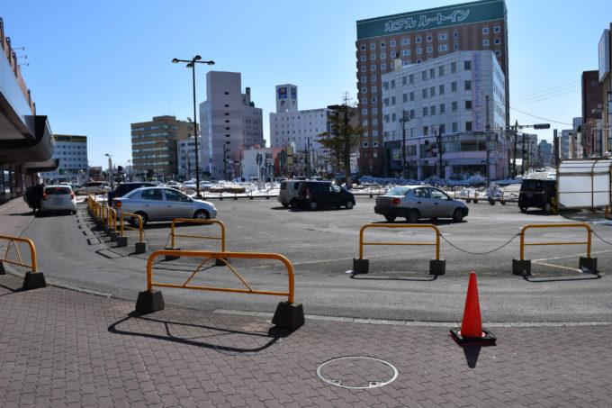 釧路駅降車場