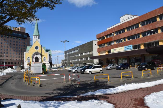 釧路駅駐車場