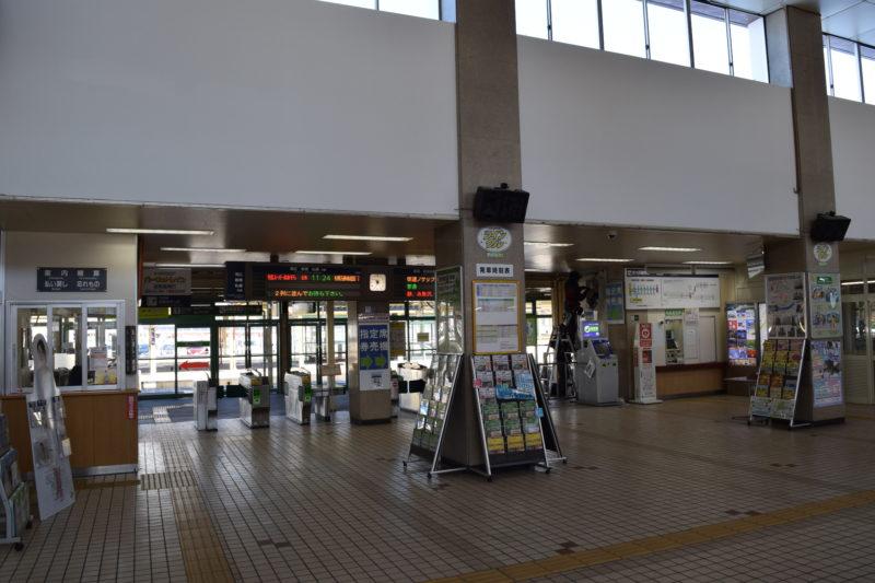 釧路駅の改札口付近