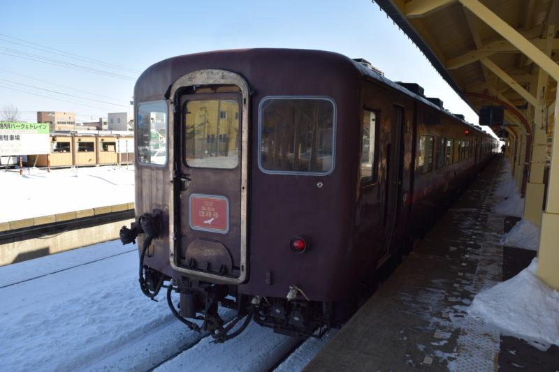 SL冬の湿原号5号車 スハフ14 507