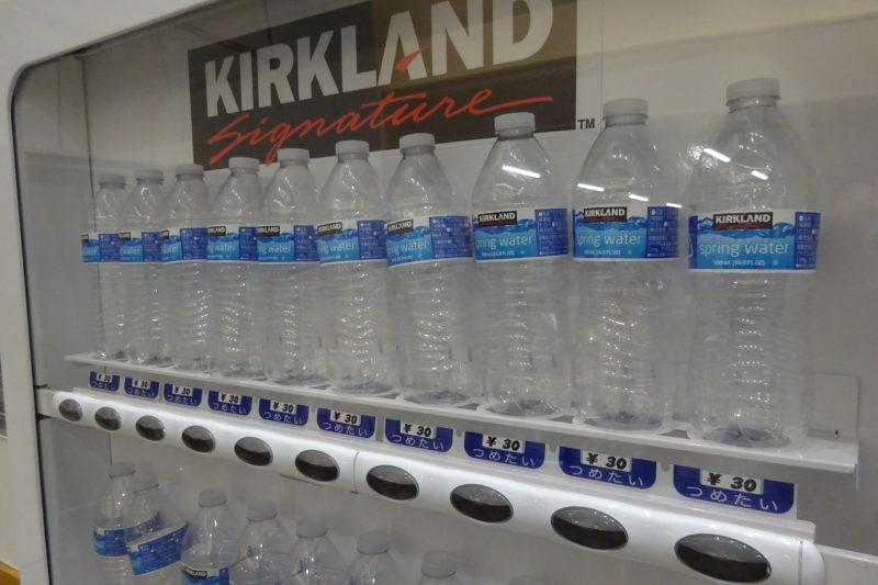 purified water(ピュリファイドウォーター)500mlペットボトルが1本30円