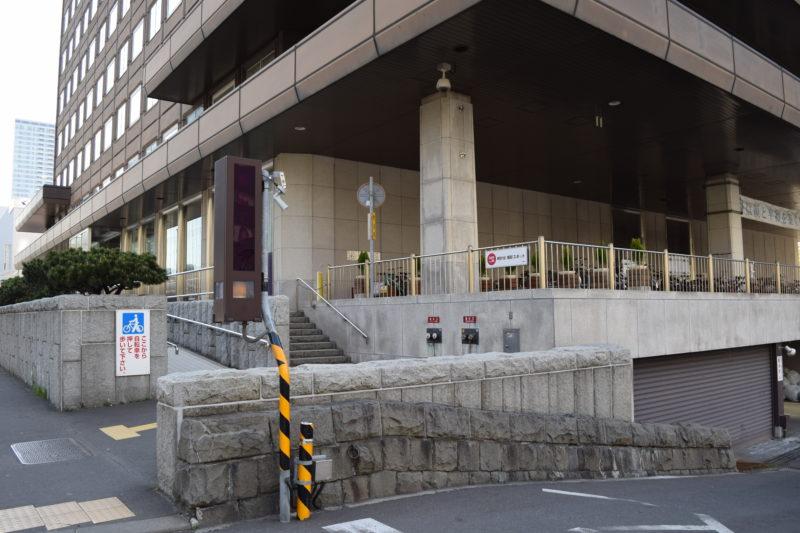 札幌市役所本庁舎駐輪場