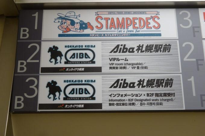 ホッカイドウ競馬場外発売所Aiba札幌駅前