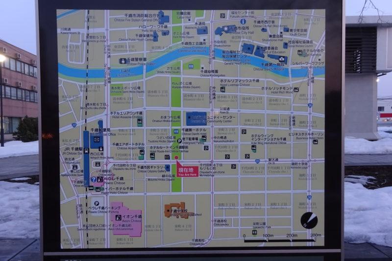 グリーンベルト周辺地図