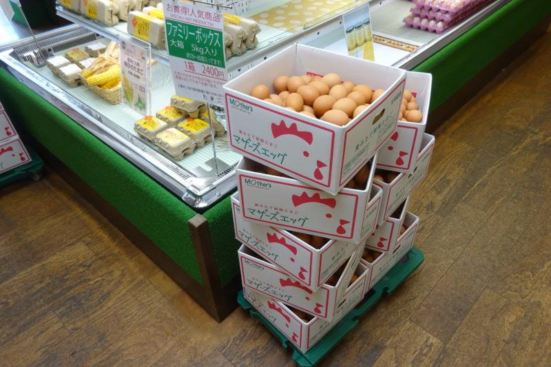マザーズ卵のファミリーボックス
