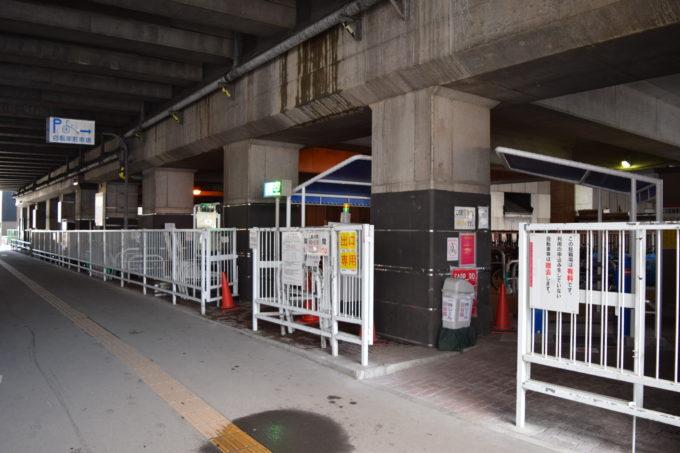 北6西1自転車等駐車場(北6西1駐輪場)
