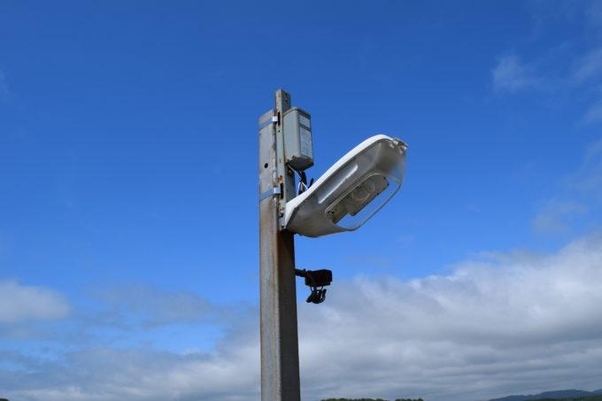 水銀灯と水銀灯安定器