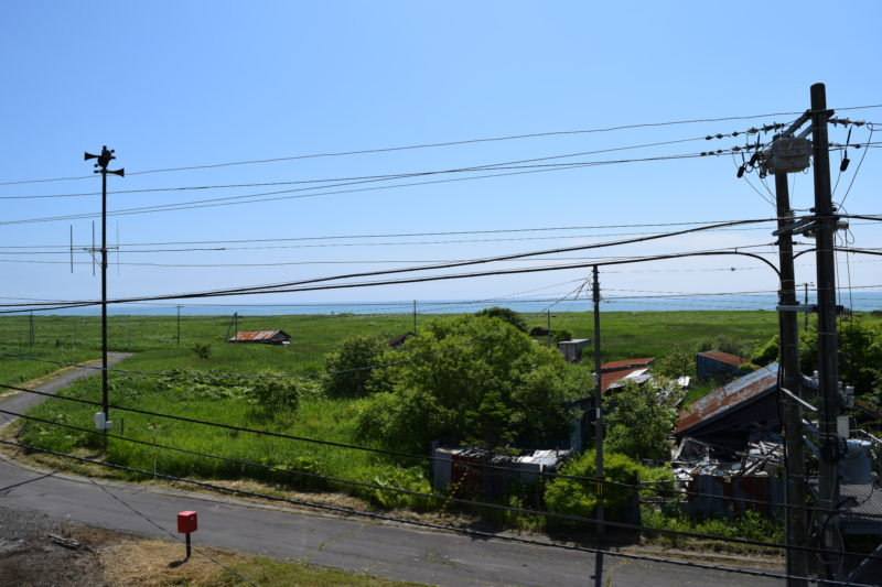 尺別駅と太平洋