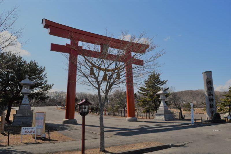 樽前山神社の大鳥居